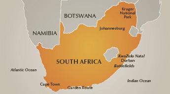 Battlefields Luxury Safaris - Southern Destinations