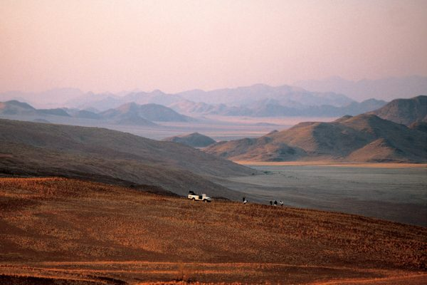 Nature drive at sunset - at Wolwedans Dune Camp in Namibia