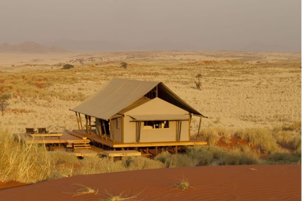 Tent - Wolwedans Dune Camp in Namibia - Southern Destinations
