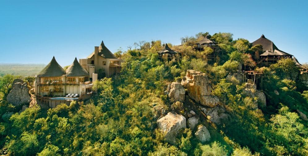 Ulusaba Cliff Lodge tour