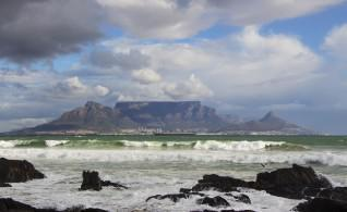 Table Mountain from Table Bay