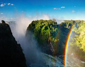vic falls rainbow tour