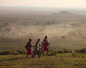 walking with masai tour