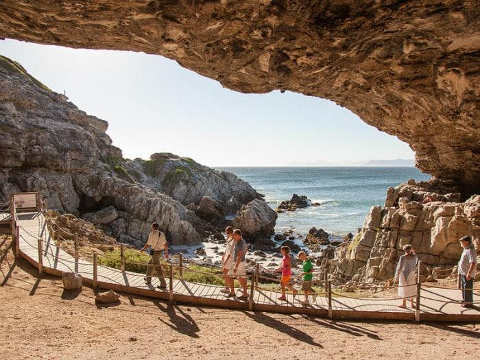 Grootbos cave tour
