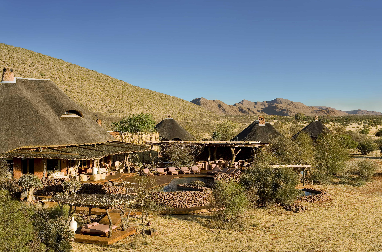 Motse in Tswalu Kalahari Reserve