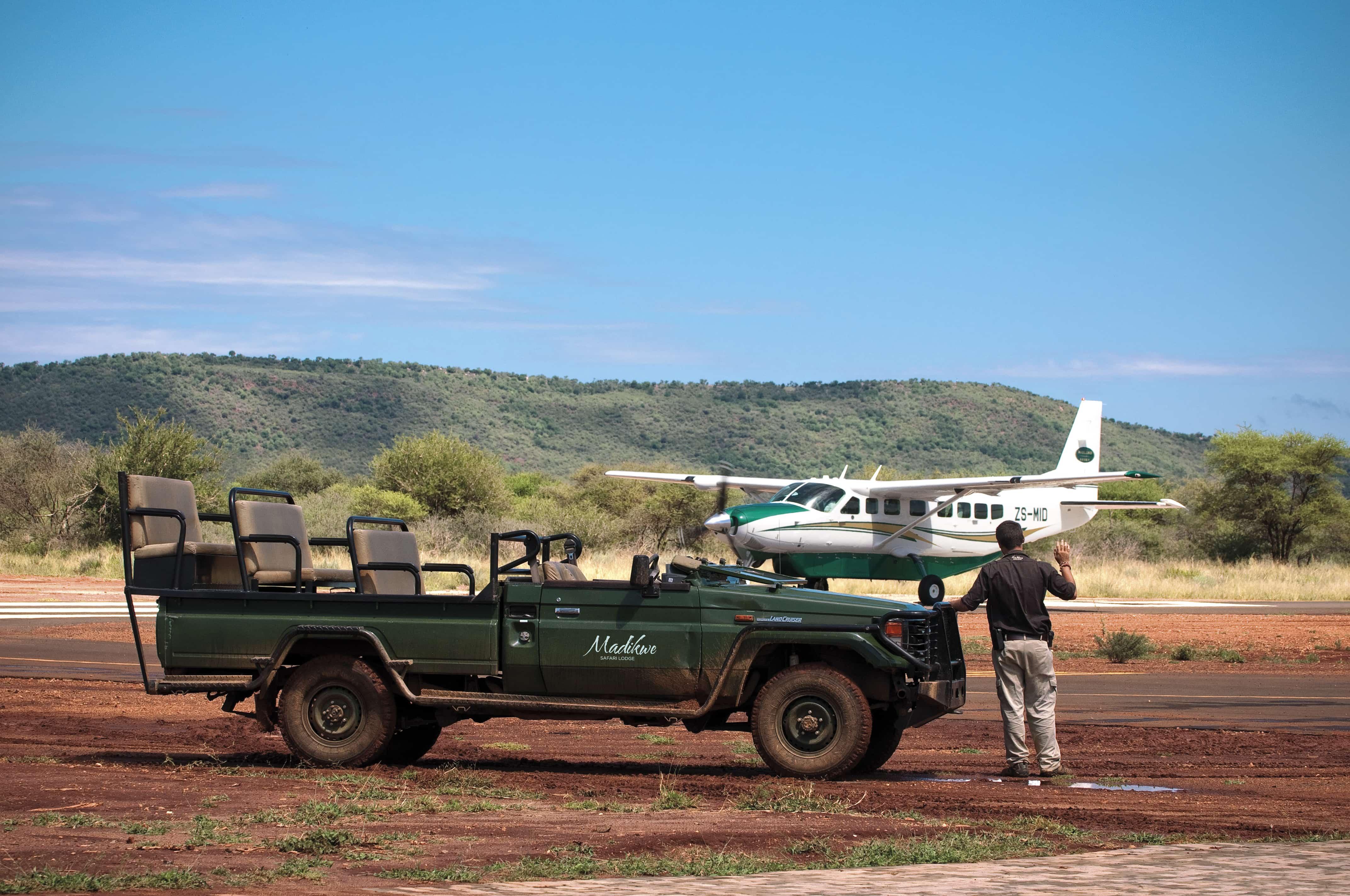 Jamala Madikwe charter flight