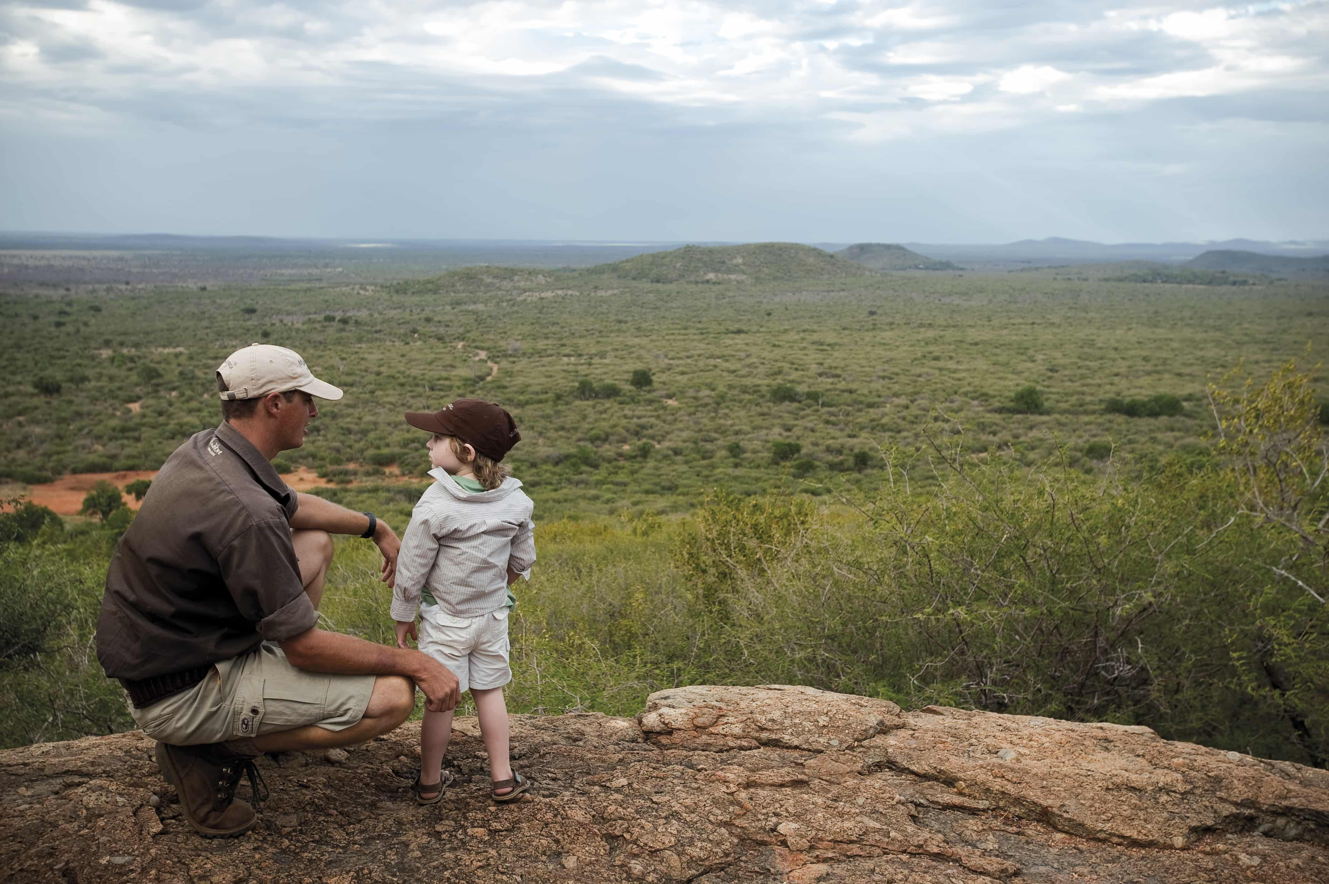 Views across Madikwe Game Reserve