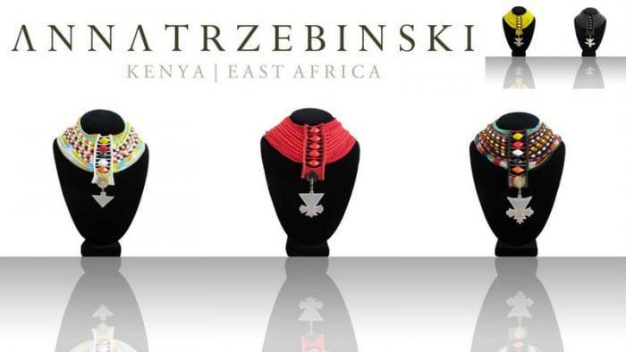 Anna Trzebinski Maasai Statement Necklaces