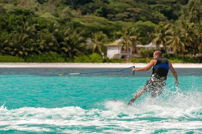 wake boarding in Mozambique