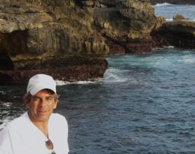 Mark Murison on the coast