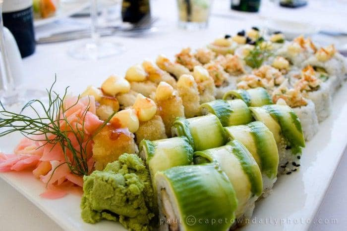 Sushi at Sevruga
