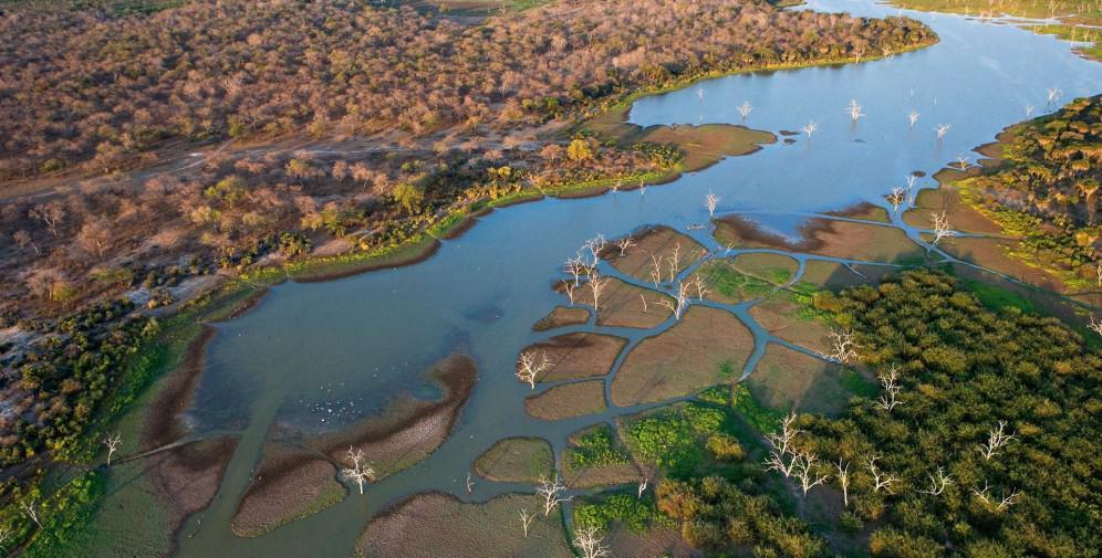 botswana aerial