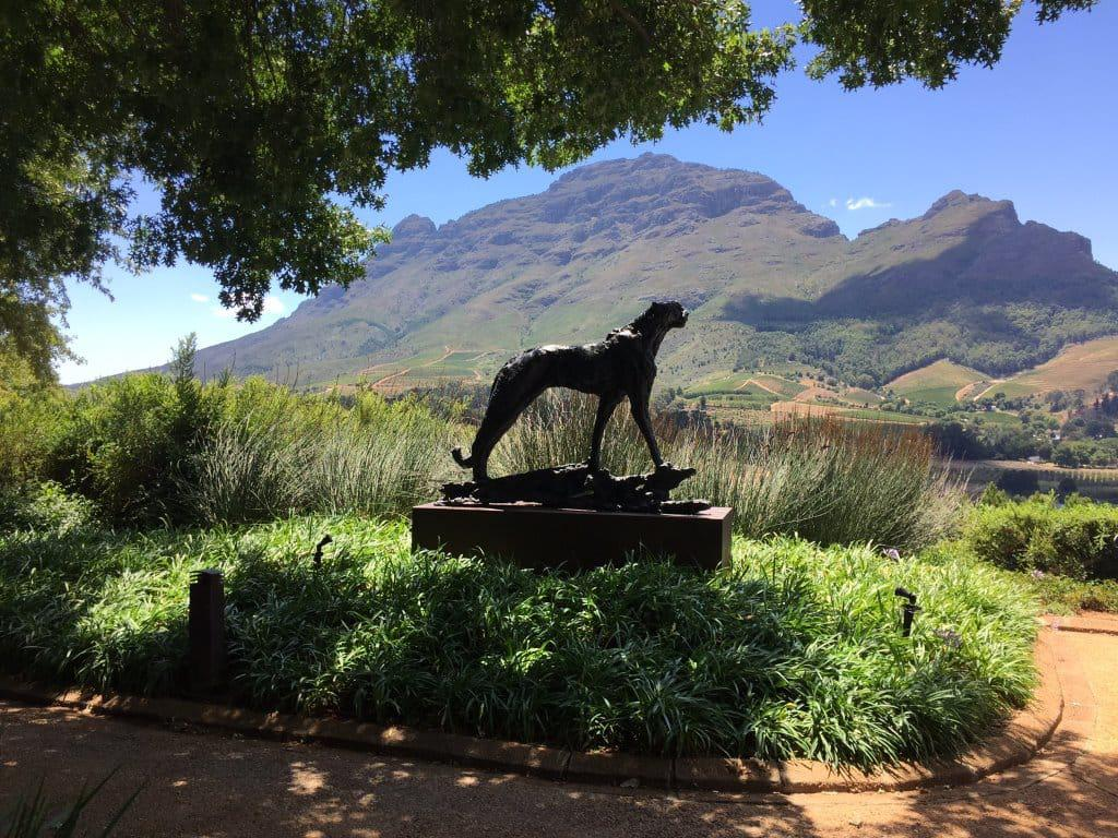 Art in the Winelands Dylan Lewis Sculpture at Delaire Graff