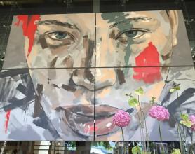 Lionel Smit @ Entrance to Delaire Graff