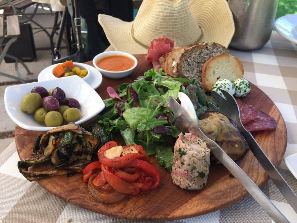 Perfect Platter at Cafe Bon Bon