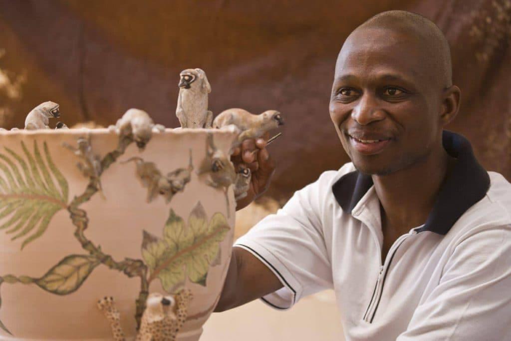 ardmore Ceramics artist Micky Chonco