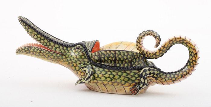 ardmore ceramics crocodile