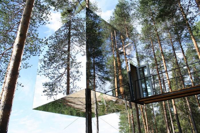 Mirrorcube Treehouse Hotel