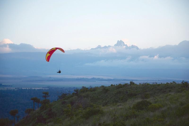 Paraglider_Borana Lodge