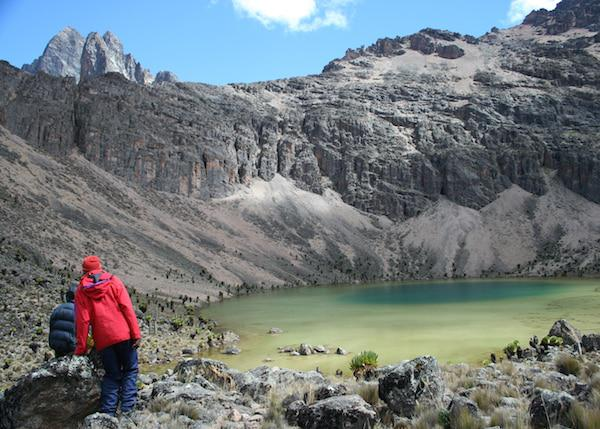 lakes of mount kenya