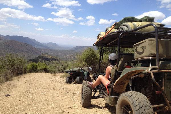 quad biking borana