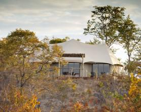 the elephant camp tent