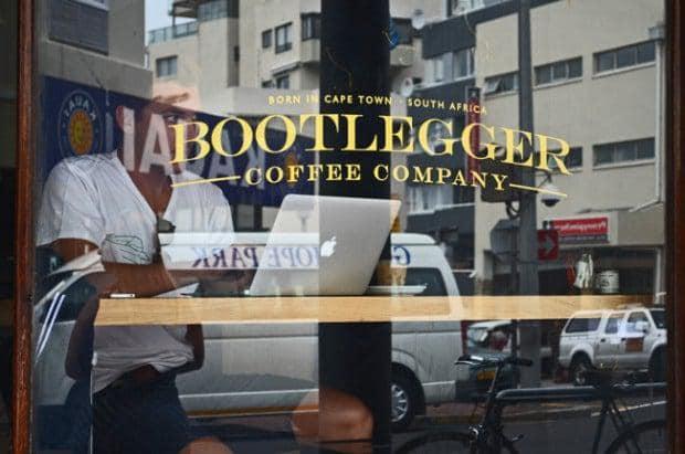 Freelancers at Bootlegger Coffee Shop