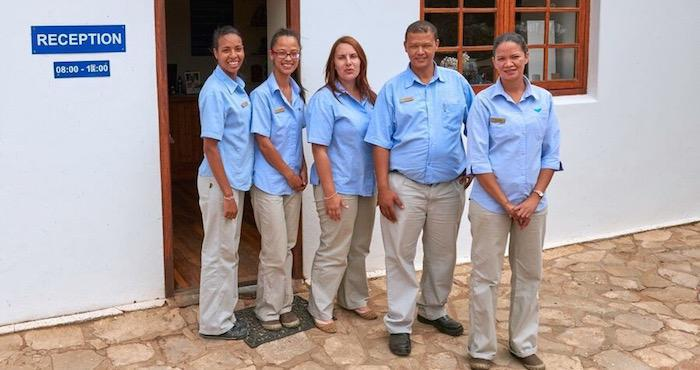 De Hoop staff