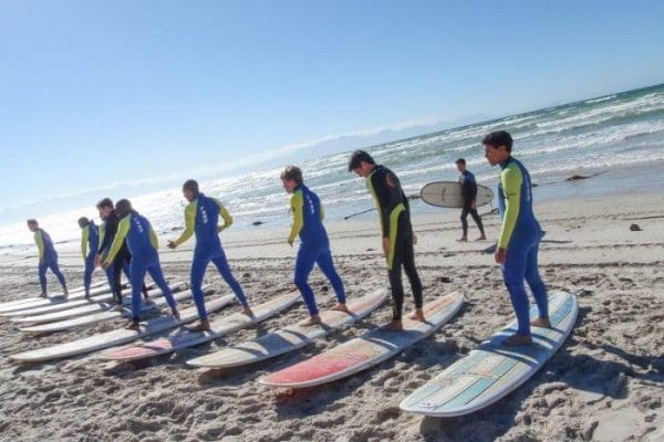 Garys Surf School at Muizenberg