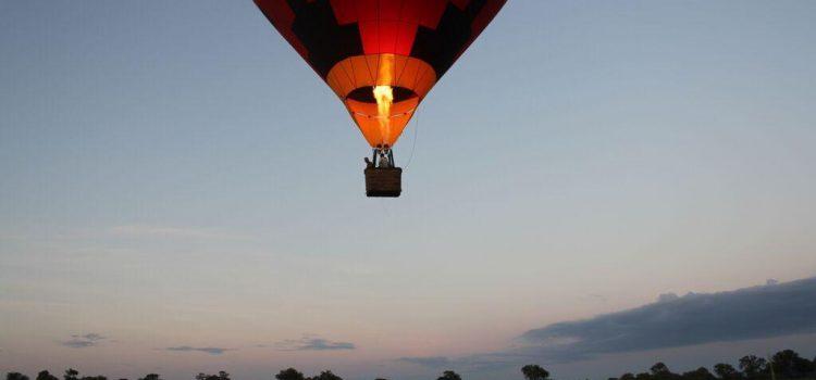Drift Over The Okavango Delta In A Balloon