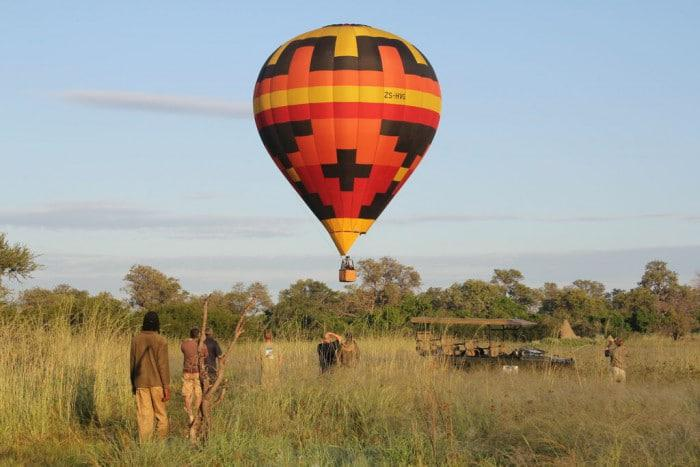 Hot Air Balloon Okavango Delta