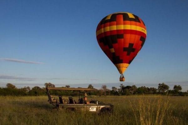 Hot Air Balloon Okavango Delta