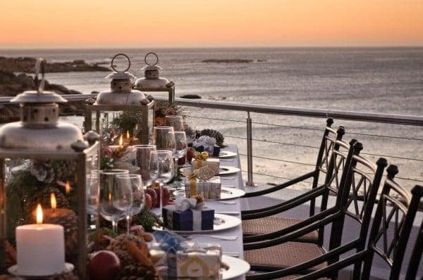 Twelve Apostles Hotel and Spa at Christmas