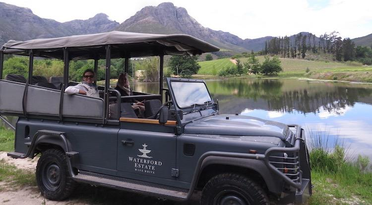 Wine Drive at Waterford Estate