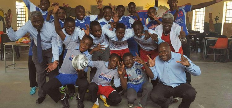 Family Donates Soccer Kit To Thornybush School – Smiles All Round!