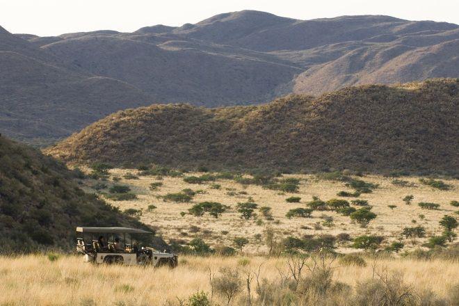 Tswalu Game Reserve game drive