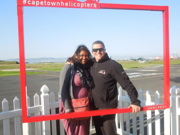 Candice on Cape Town Helicopters trip