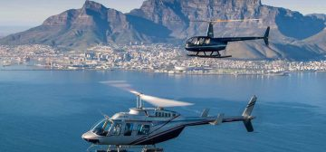 Heli Flight With Cape Town Helicopters