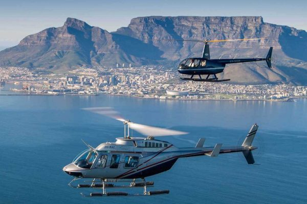 private helicopter tours cape town