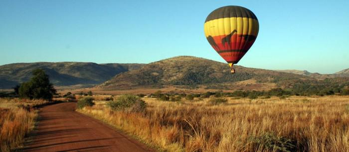 hot air balloon safari in pilanesberg