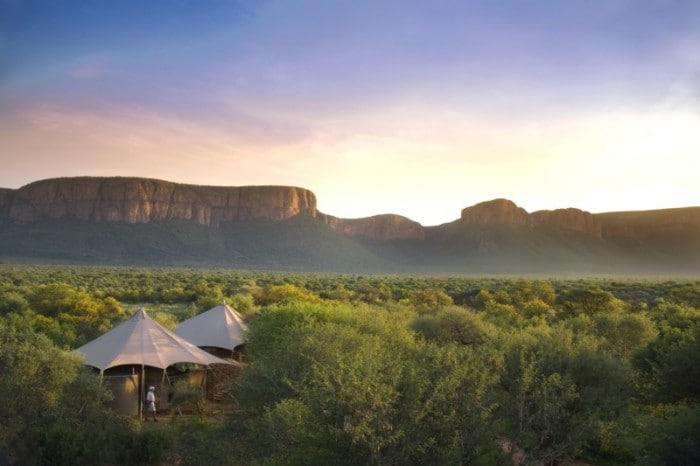 marataba safari lodge with incredible landscape backdrop