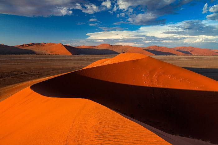 red dunes of sossusvlei photo credit and copyright hougaard malan