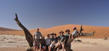 Photo diary of a multi-generational family safari