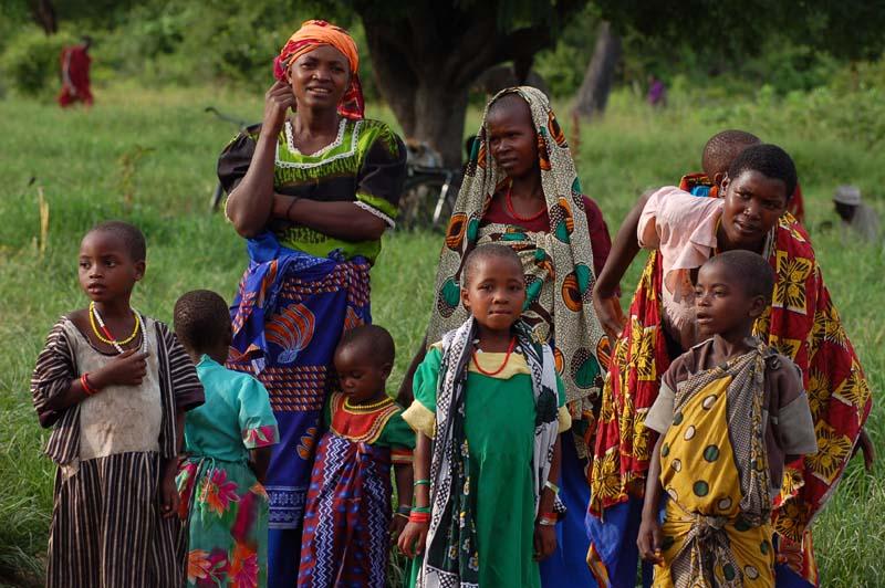 Karatu villagers in Tanzania