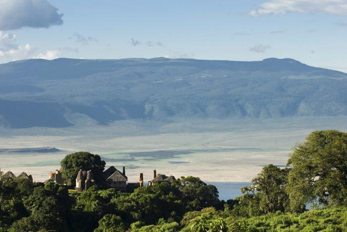 Views from ngorongoro Crater Lodge