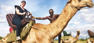 How To Ride a Camel in Style