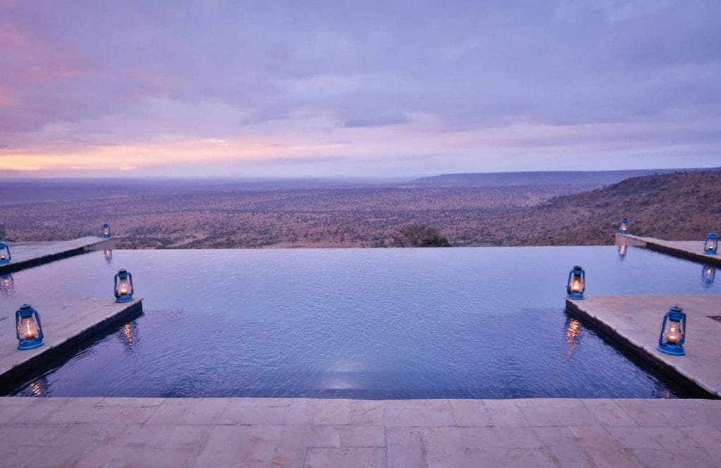 I realised why they call it an 'infinity' pool --- because I wanted to stay in it forever!