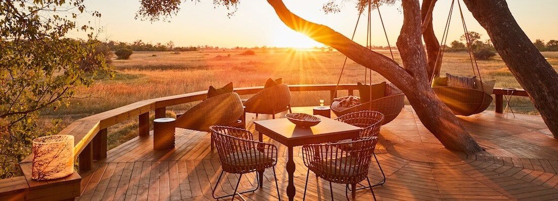 Tuludi is the new gem in the crown of the Natural Selection collection. This fabulous brand new camp is located in the 200 000 hectare Khwai Private Reserve, a pristine wilderness area of flood plains, waterways and forests in the heart of the Okavango Delta
