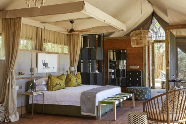 Wonderful bedroom decor Tuludi Camp in the Khwai, Botswana - by Natural Selection (Southern Destinations)