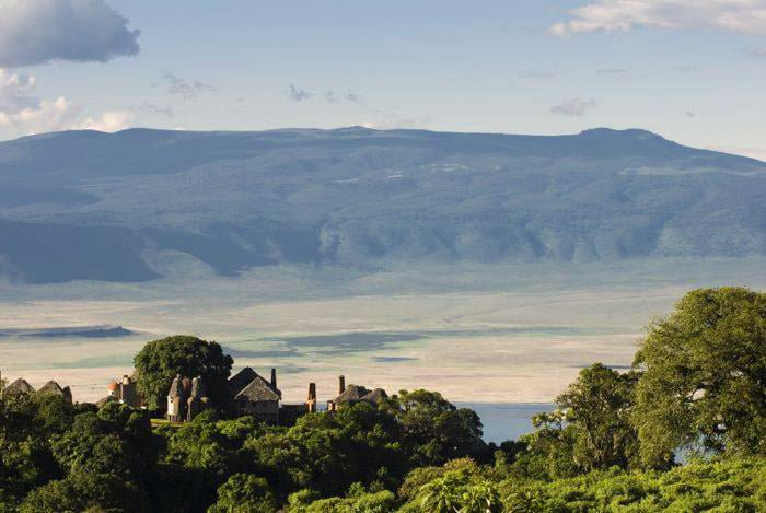 AndBeyond Ngorongoro Crater Lodge location